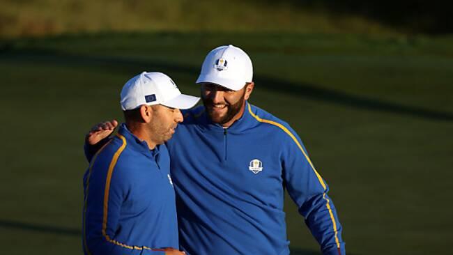 Garcia und Rahm holten den ersten Punkt für Europa
