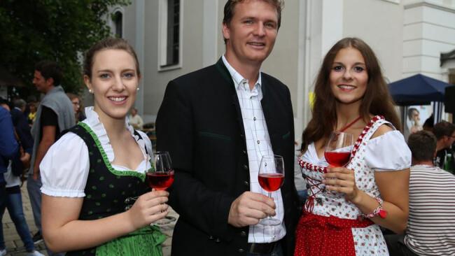 Erstes Winzerfest in Jennersdorf