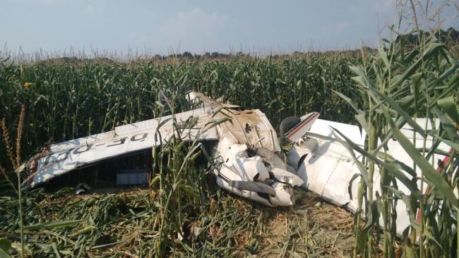 Flugzeugabsturz in Punitz (Bezirk Güssing)