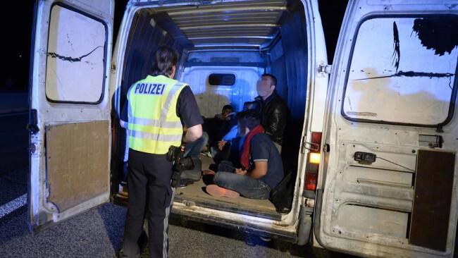 Flüchtlings-Aufgriffe im Burgenland THEMENBILD: FL†CHTLINGE - AUFGRIFFE IM BURGENLAND
