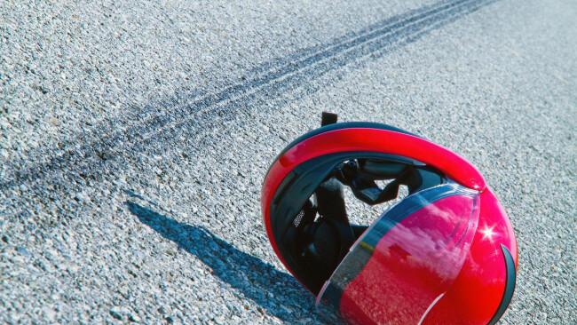 Unfall Todesopfer Verkehr Rettung Mofa Motorrad