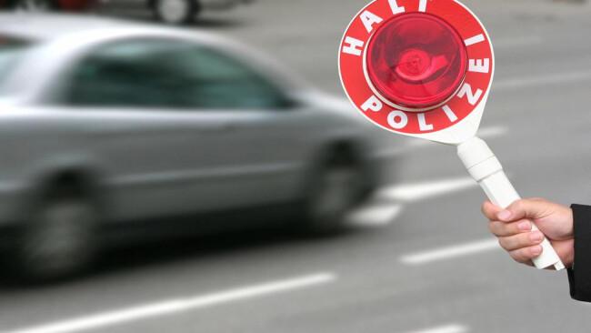 Kontrolle Parken Polizei