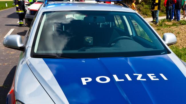 Polizeiauto Polizei Einsatz Notfall Feuerwehr Rettung