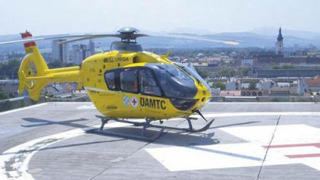 ÖAMTC Christophorus Hubschrauber Rettung Notarzt Unfall