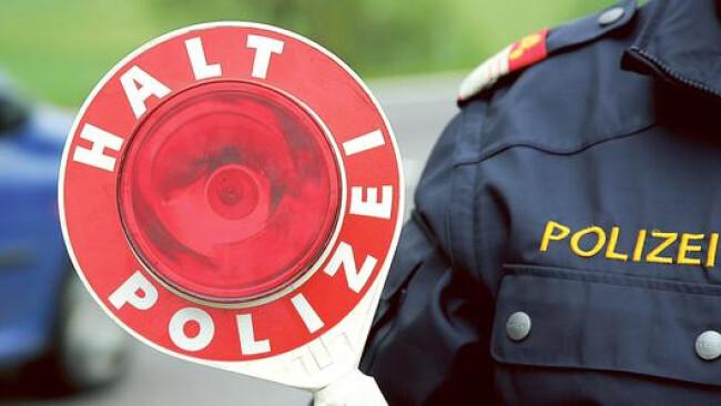 Polizei Kontrolle Widescreen
