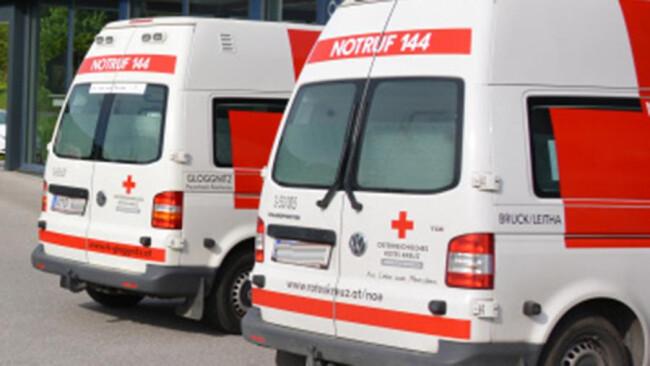 Rettung Notarzt Unfall Rotes Kreuz