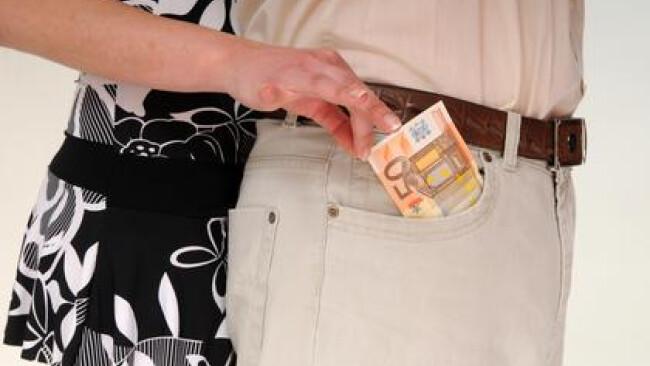 Diebstahl Taschendieb