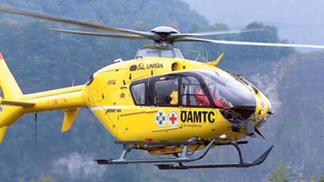 Chistophorus Hubschrauber Flugrettung ÖAMTC Rettung