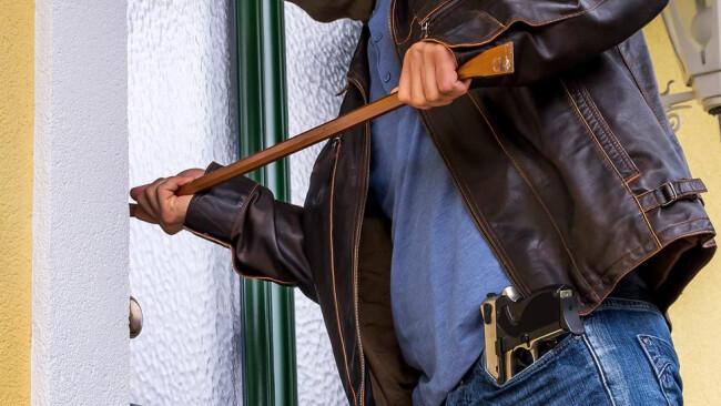 Einbrecher Einbruch Diebstahl Raub