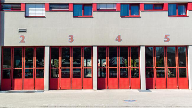 Feuerwehr Garage