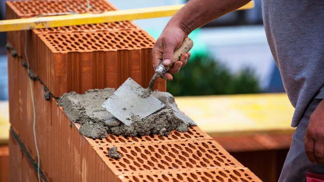 Bauen Baugrund Bauland Hausbau Bau Dachstuhl
