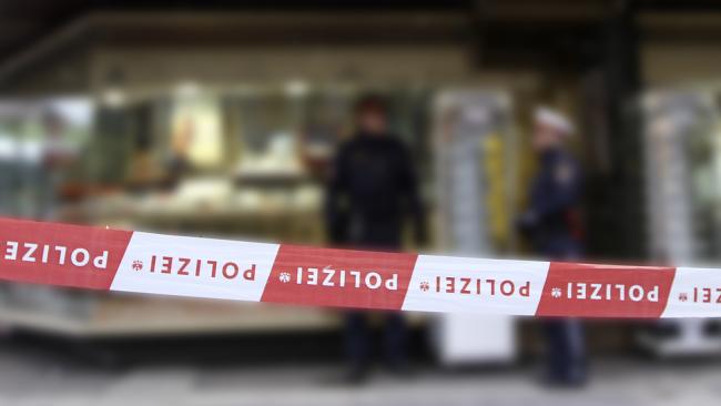 Polizei Überfall Einsatz Raub Tatort