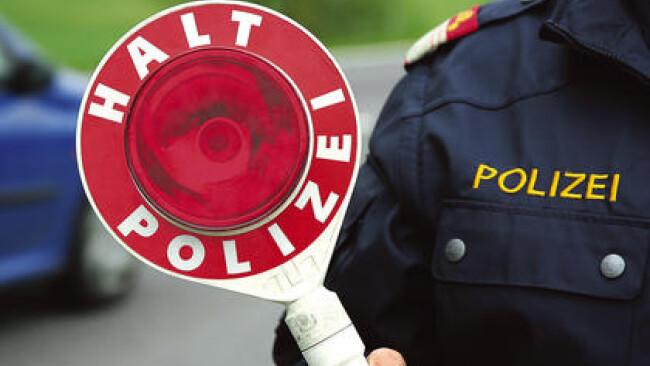 Polizei Kontrolle