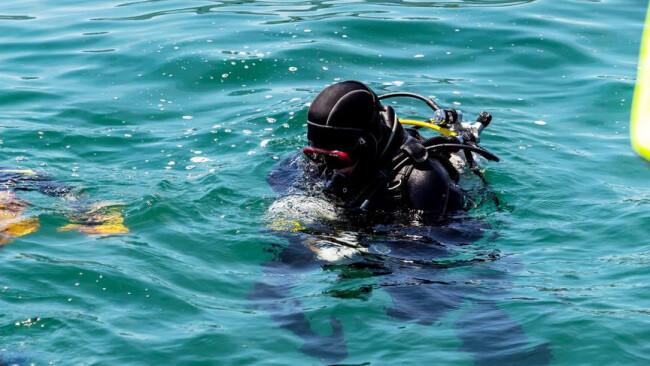 Wasserrettung Tauchen Wasser Rettung Rettungstaucher Tauchen