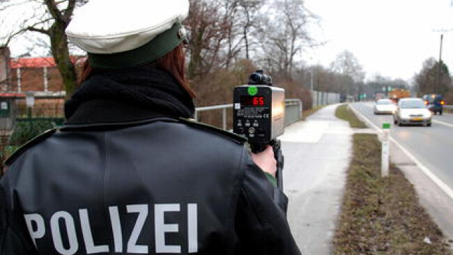 Polizei Kontrolle Radar