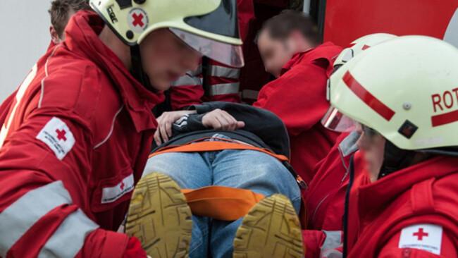 Rotes Kreuz Rettung Notfall