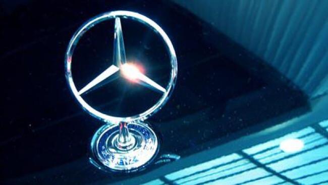 Logo der Automarke Mercedes - Mercedesstern