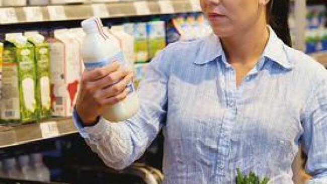 Supermarkt Einkaufen Lebensmittel