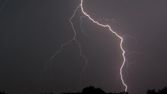 Blitz Gewitter Donner Unwetter
