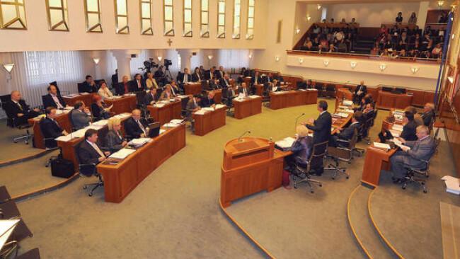 Landtag Burgenland Sitzungssaal Landtagssitzung