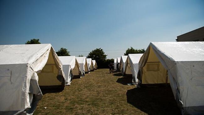Eisenstadt: Hundert Asylwerber beziehen Zelte