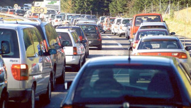 Stau Autobahn Auto Verkehr