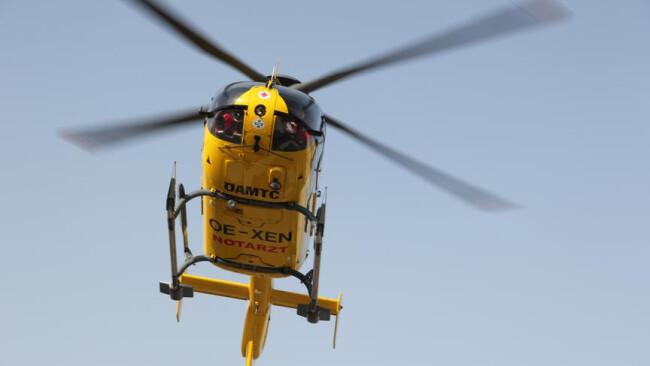 Symbolfoto ÖAMTC-Hubschrauber Hubschrauber