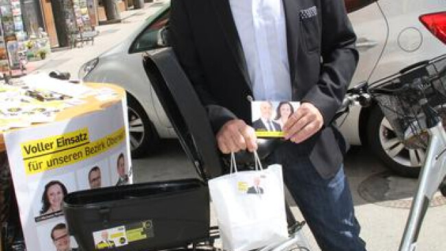 Oberwart Bürgermeister Georg Rosner