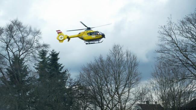 Notarzthubschrauber Symbolbild Rettung Christophorus Hubschrauber