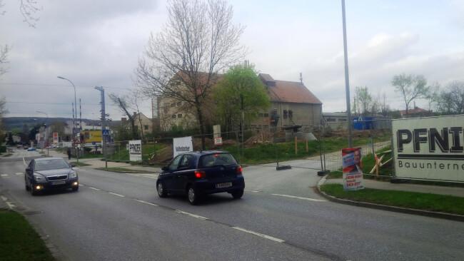 Billa statt Bauhof in der Rusterstraße Eisenstadt
