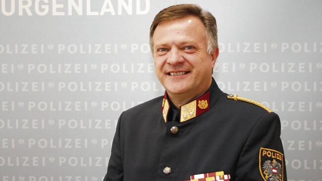 Oberst Füzi: 40 Jahre für die Polizei Eisenstadt