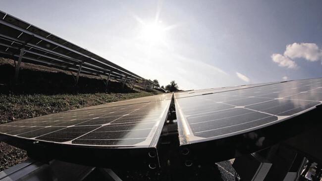 Schützen Photovoltaik Sonnenstrom Symbolbild