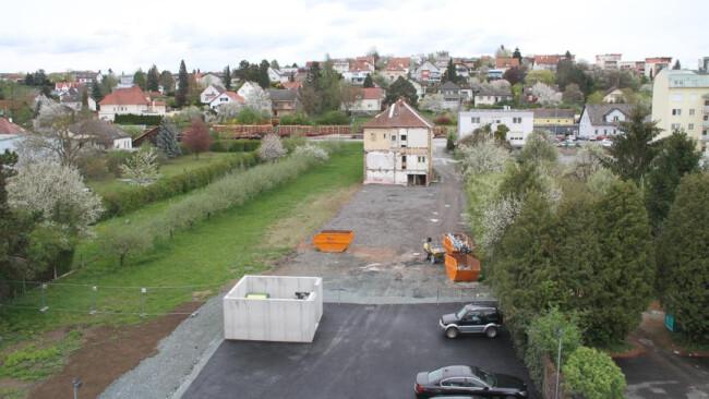 98uik Oberwart Zweite Straße im Plan